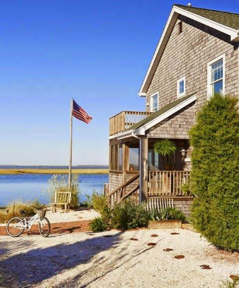 Lbi Nj: Sandy Gingras Beach Home On Long Beach Island In New