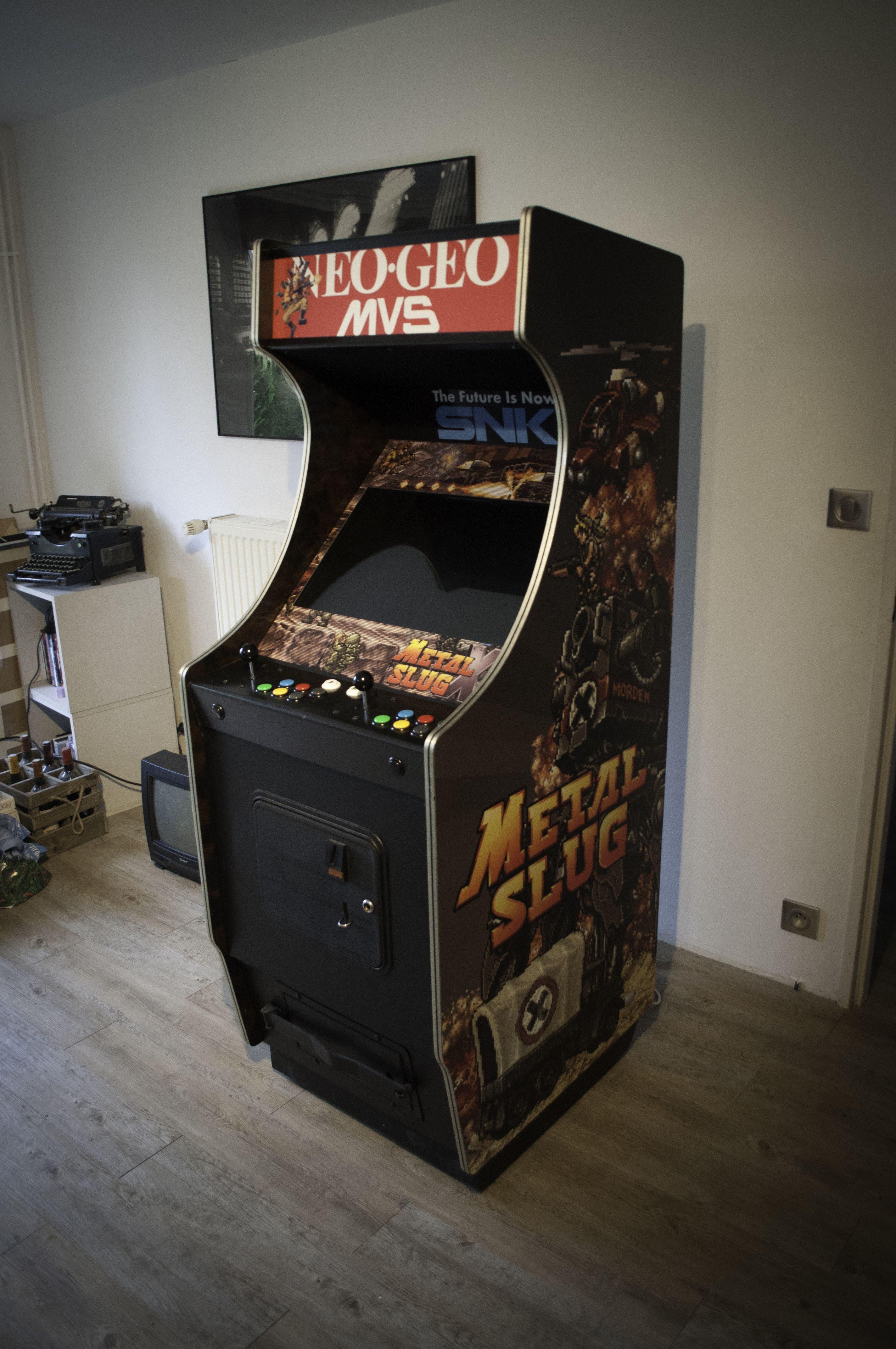 Borne D Arcade Metal Slug Neo Geo Videogames Cabinet Arcade Cabinet Arcade Machine Arcade