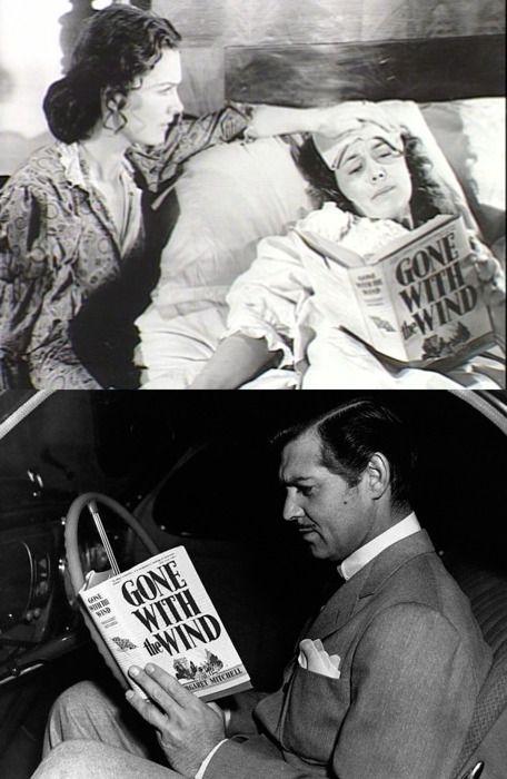 Women Reading - bohemea: Olivia de Havilland & Clark Gable... | Gone with  the wind, Olivia de havilland, Tomorrow is another day