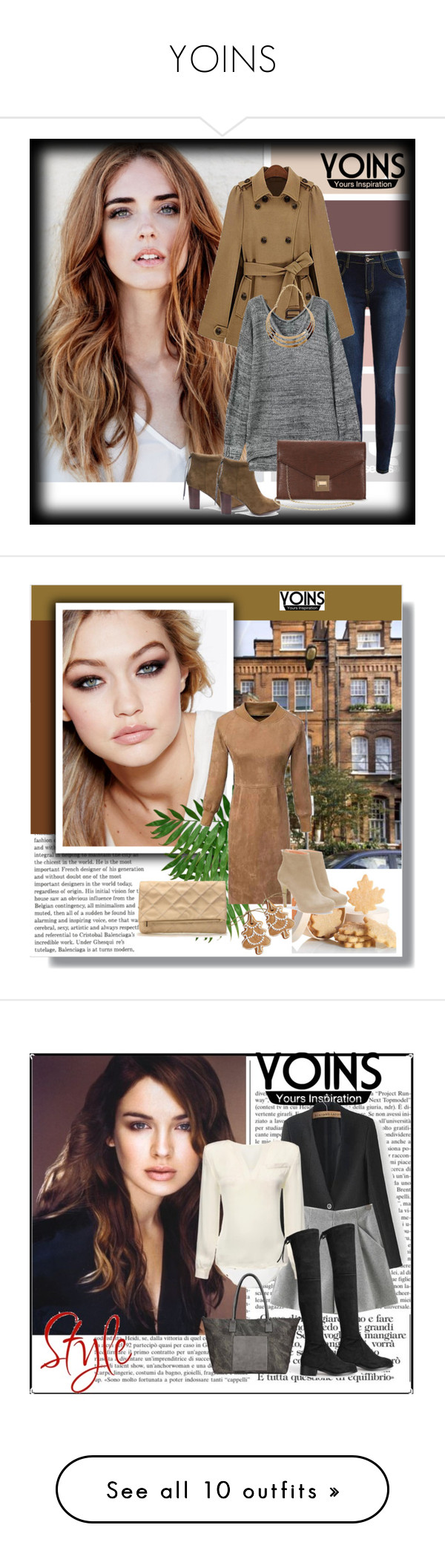 """YOINS"" by sabine-rose ❤ liked on Polyvore featuring yoins, women's clothing, women's fashion, women, female, woman, misses, juniors, yoinscollection and Pier 1 Imports"