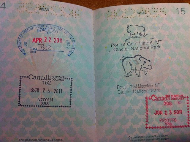 Usa Canada  Passport Application Form Passport Agency And
