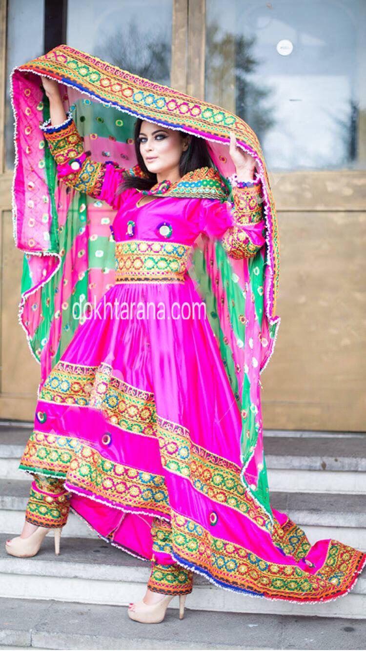 pink #afghani #dress #afghan #style #girl | Afghan dress | Pinterest ...
