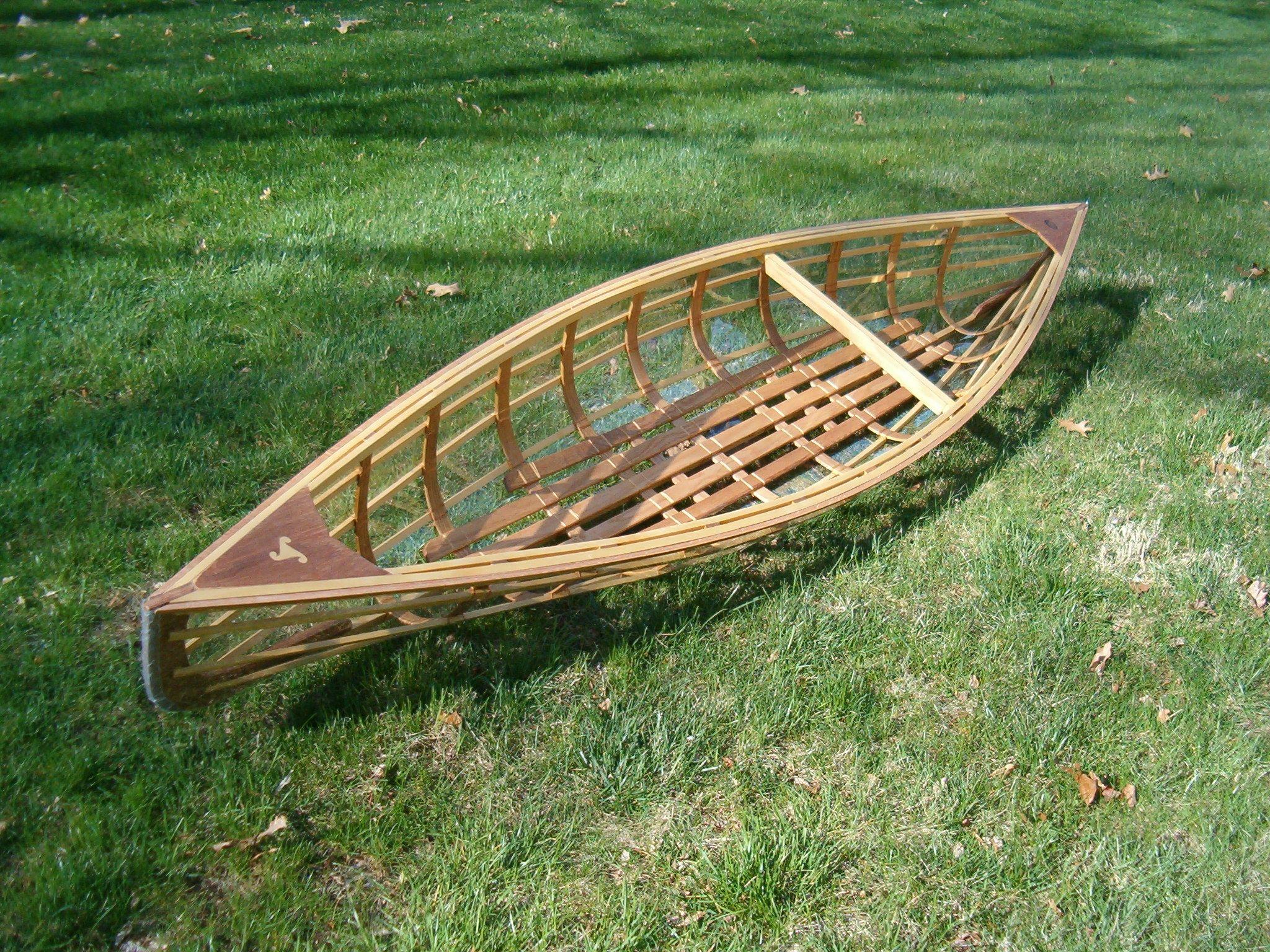 Plans For Skin On Frame Boats Boat Wooden Boat Plans