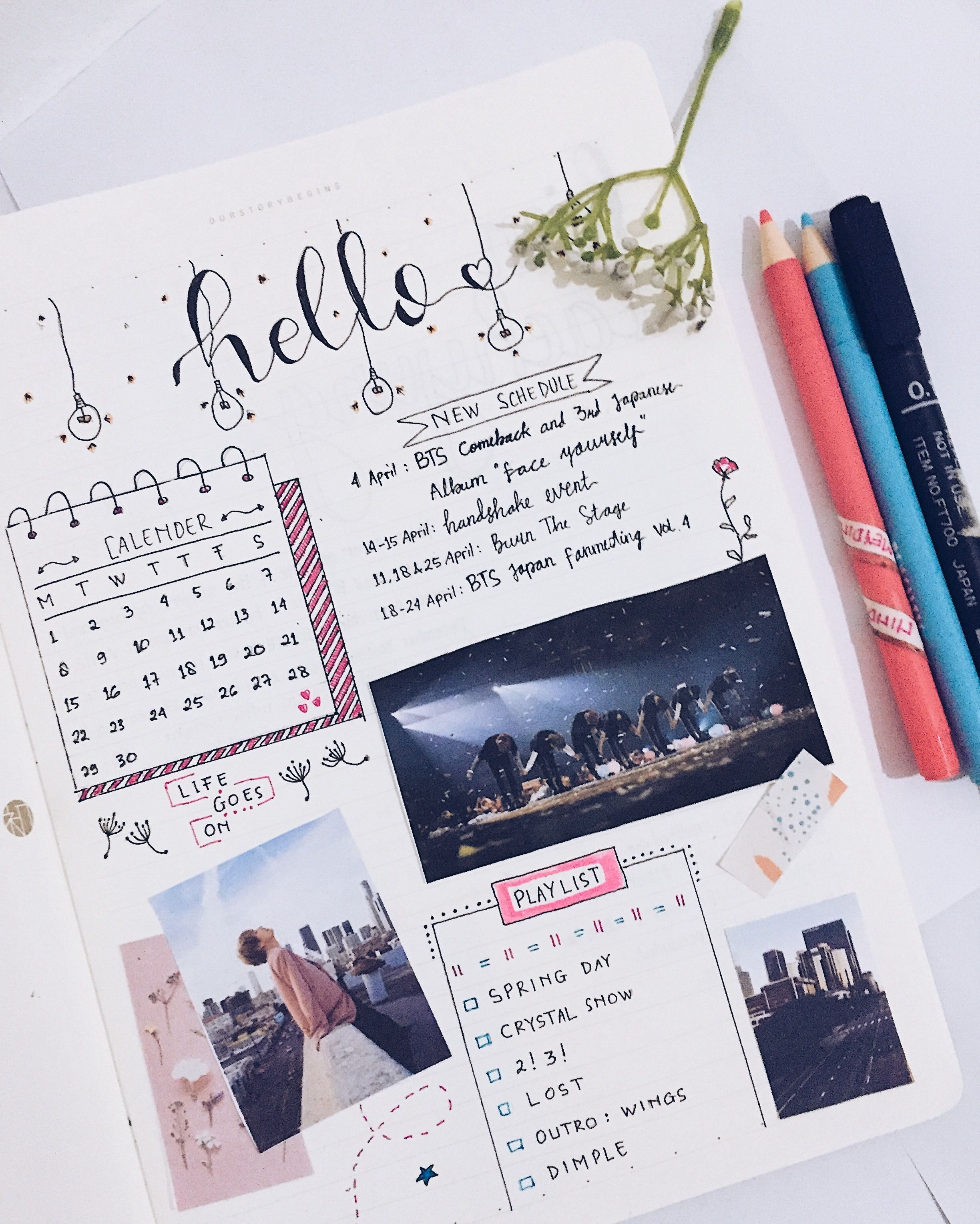 Awesome Bts Journal Book wallpapers to download for free greenvirals