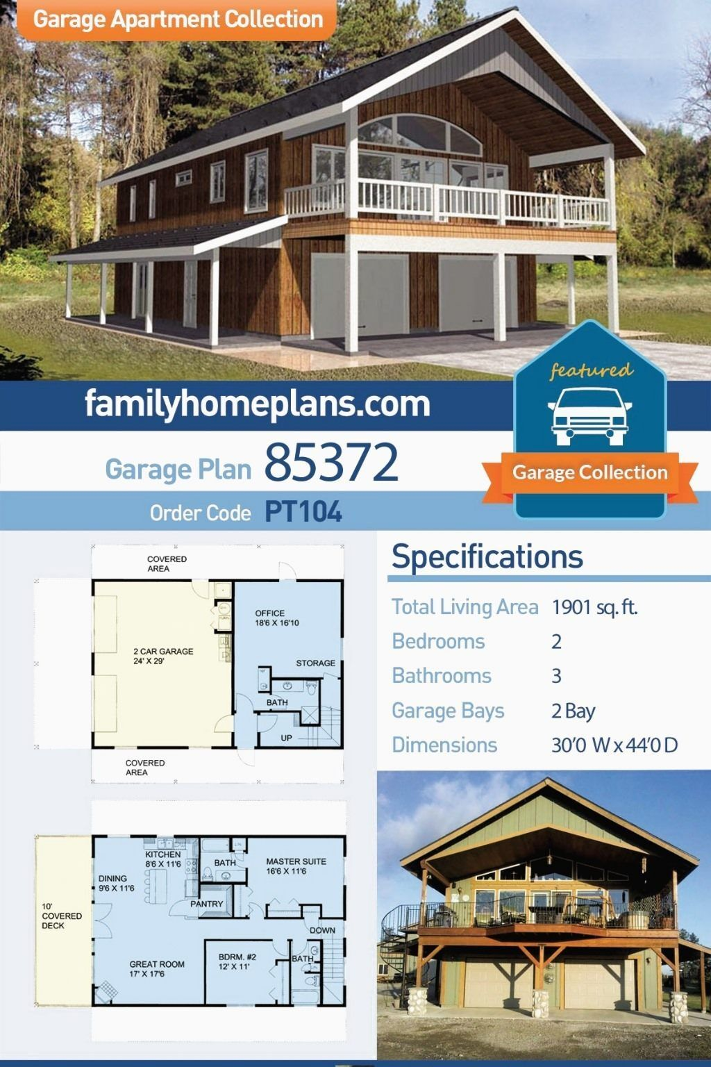 This Is One Of Our Most Popular Apartment Over Garage Plans Garage Apartment Plan At H In 2020 Garage Apartment Plan Carriage House Plans Garage Apartment Floor Plans