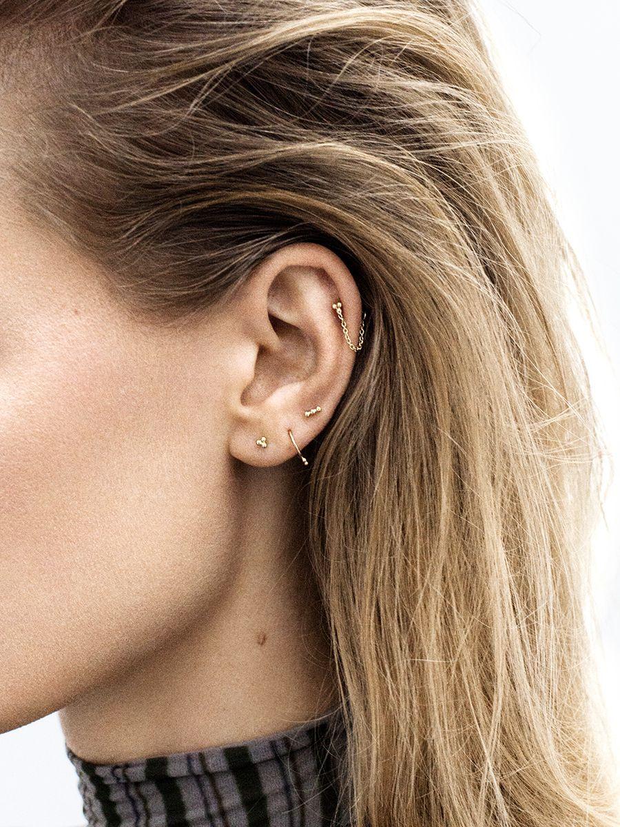 Nose piercing hoop vs stud  Pin by cristina galindo on cosas para ponerme  Pinterest  Ear