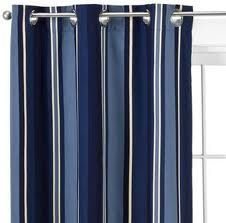 Does Anyone Know Where I Find These Navy And Blue Striped Curtains