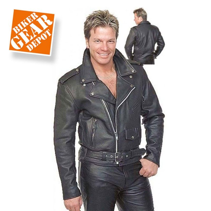 Mens Motorcycle Leather Jackets | Leather motorcycle jacket