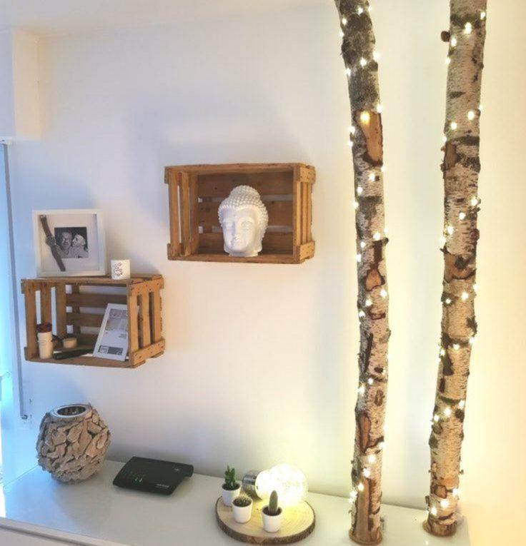 Photo of Berken stam diy – doe het zelf decoratie