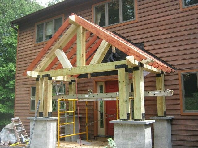 Image Result For Timber Frame Portico Portico Porch