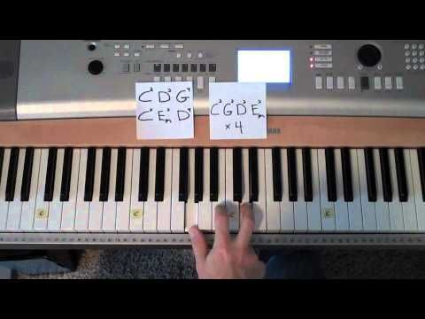 Easy To Play Piano The Anthem By Planetshakers Praise Team Song