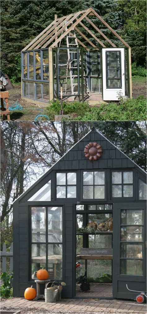 12 Most Beautiful DIY Shed Ideas with Reclaimed Windows Business
