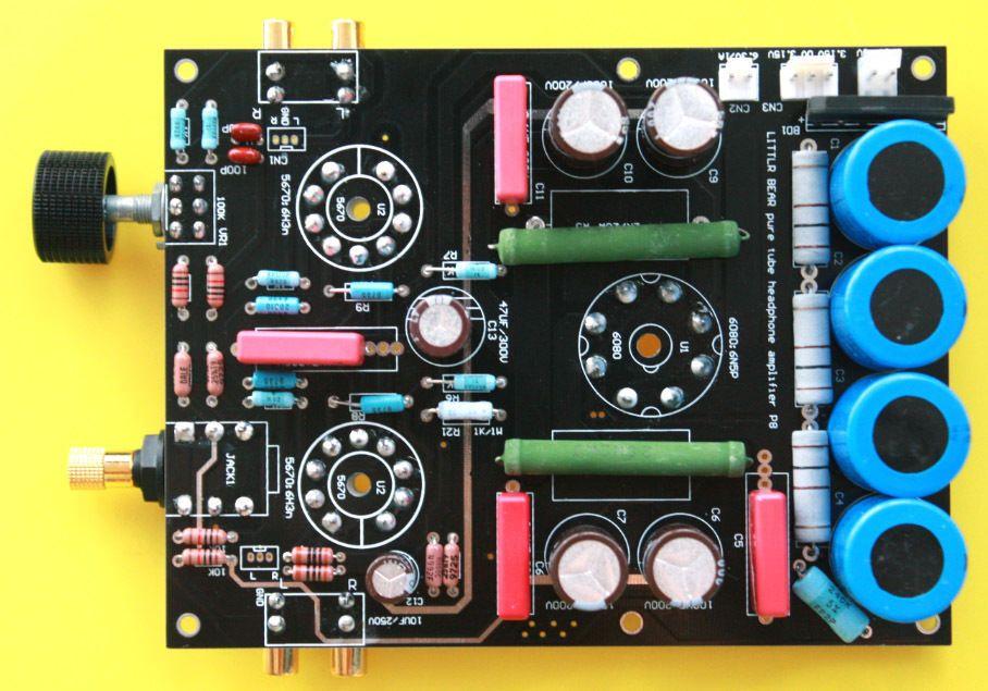Little Bear P8 Main Board valve tube Headphone Amplifier amp