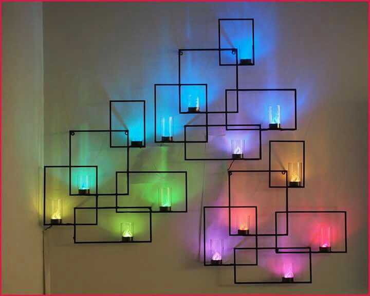Diy Wall Art Ideas And Do It Yourself Wall Decor For Living Room Bedroom Bathroom Teen Rooms Geometric Neon Lights Wall Art Sconces Cheap Ideas For Those
