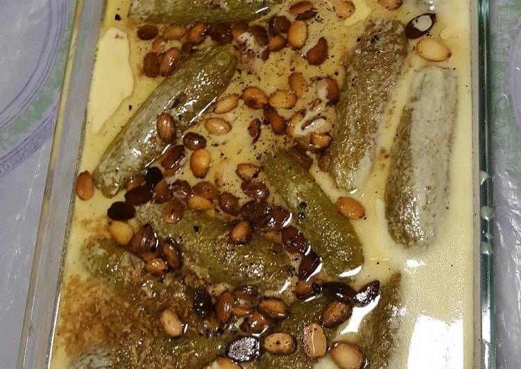 كوسا باللبن او شيخ المحشي بالصور من بوسي بيسو Recipe Recipes Food Yummy