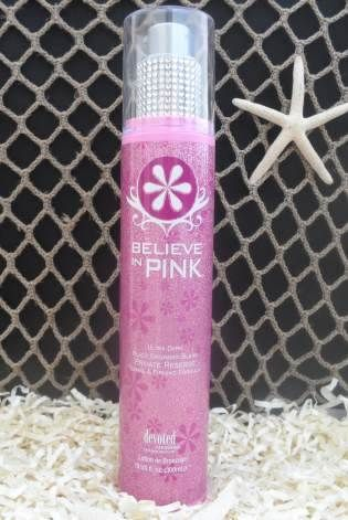 meet your tanning destiny with believe in pink private reserve by
