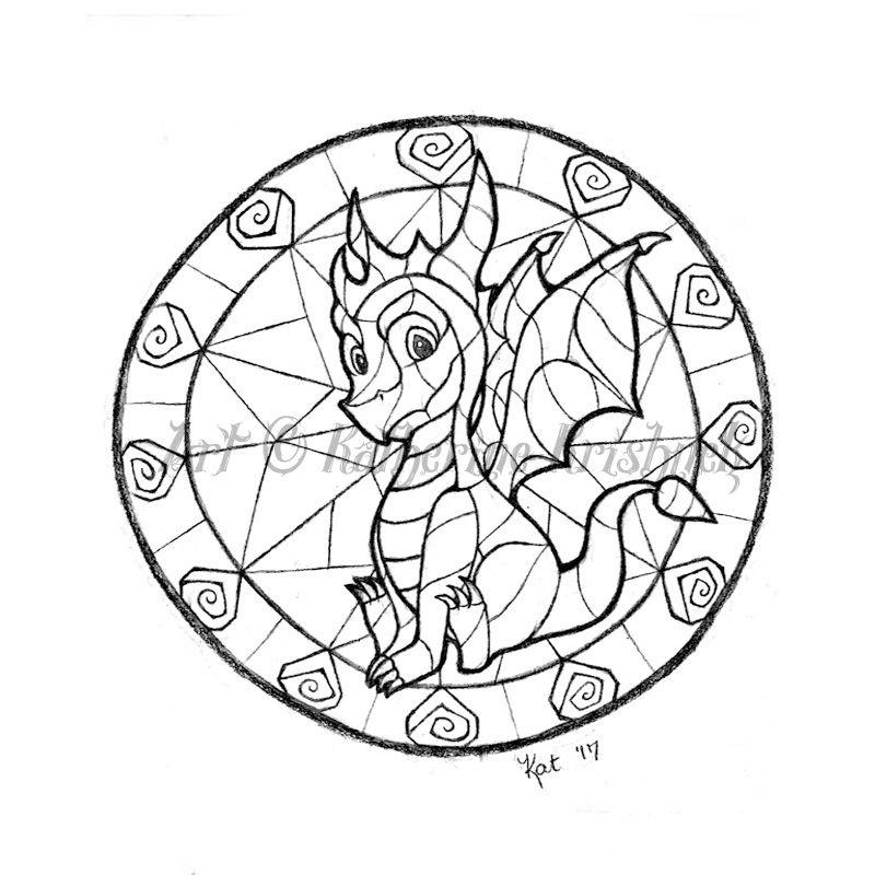 Spyro The Dragon Gem Circle