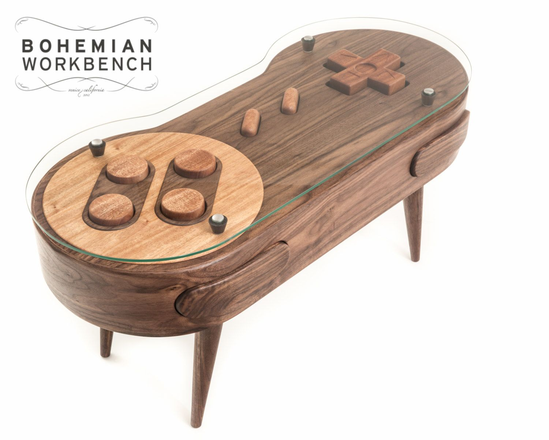 Super Nintendo Coffee Table Functional By Bohemianworkbench Usd