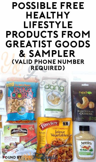 Possible FREE Healthy Lifestyle Products From Greatist Goods