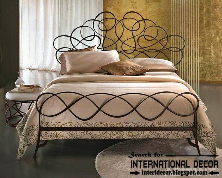 Stylish Italian Wrought Iron Beds And Headboards 2015 Wrought Iron Beds Iron Bed Iron Furniture