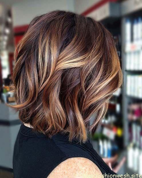 17 Stylish Haircuts For Women Over 50 Years Old Haircuts Stylish Women Years Brown Hair With Blonde Highlights Hair Styles Brown Blonde Hair