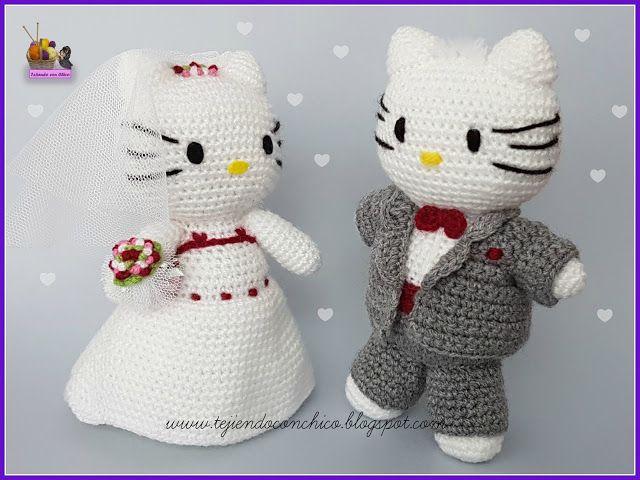 Tejiendo con Chico: Hello Kitty 21 - Daniel (novio de Kitty ...