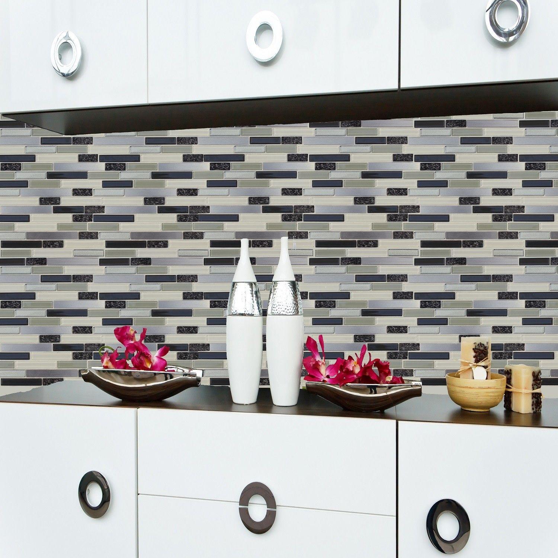Peel Stick Mosaic Sticker Tile NewLink Kitchen