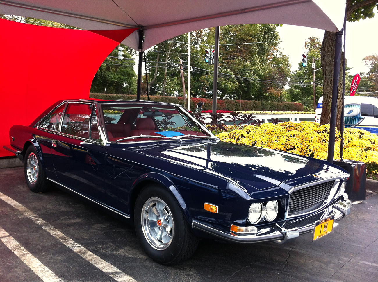 72 Momo Mirage. Only four of this Italian/American effort were ever ...