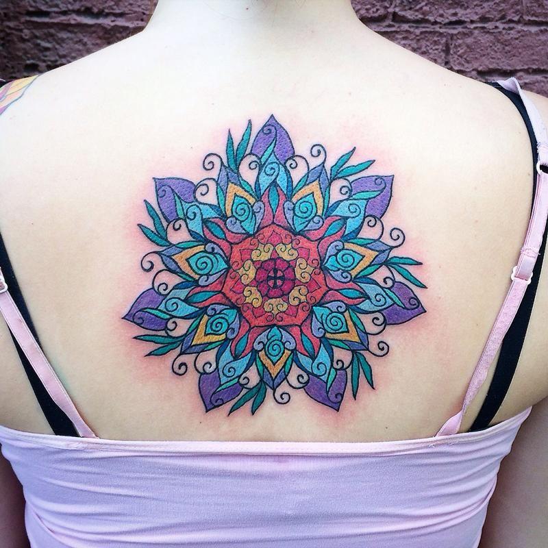 Tattoo Ideas Color: Color Mandala By Canyon Webb