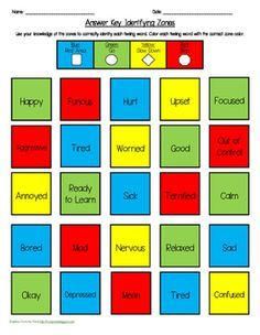photograph about Zones of Regulation Printable identify Elizabeth Luske (elizabethluske) upon Pinterest