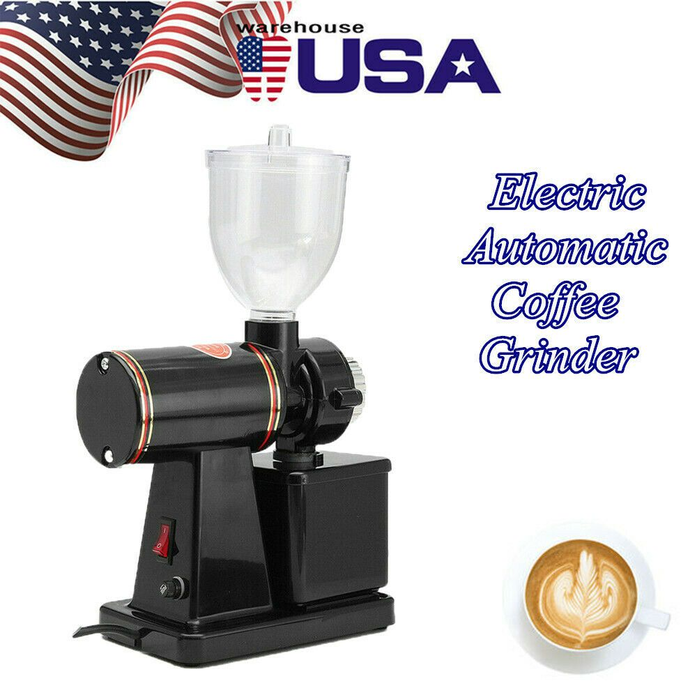 Details about Commercial Coffee Grinder Electric Automatic