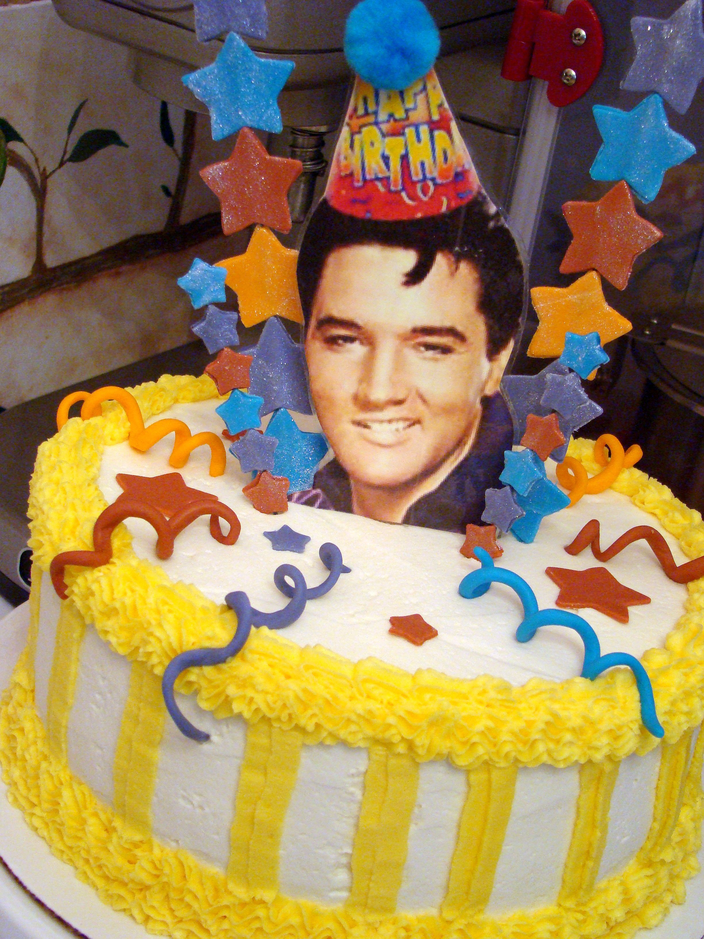 Elvis Birthday Cake Great Cakes In 2019 Elvis Presley