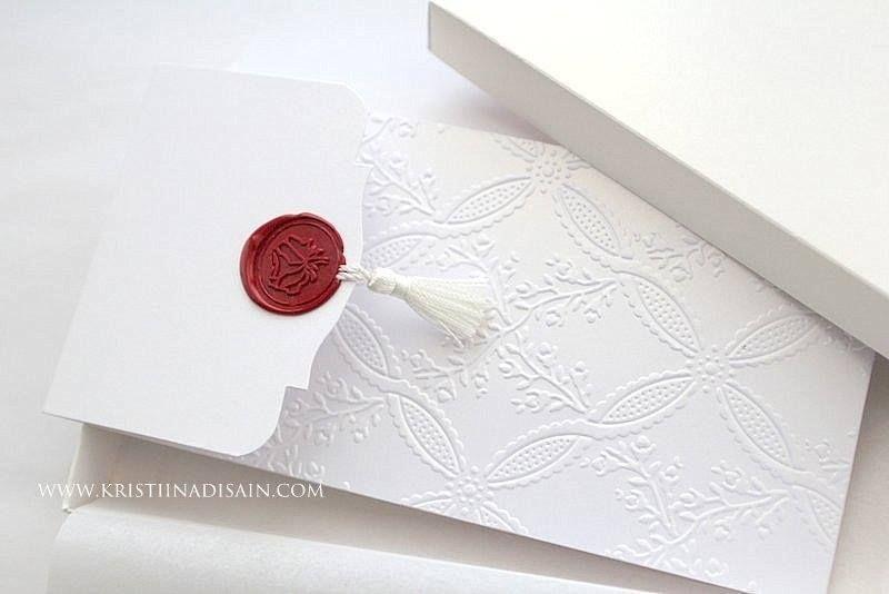 Wax Seals For Wedding Invitations: Tassel And Wax Seal Invitation