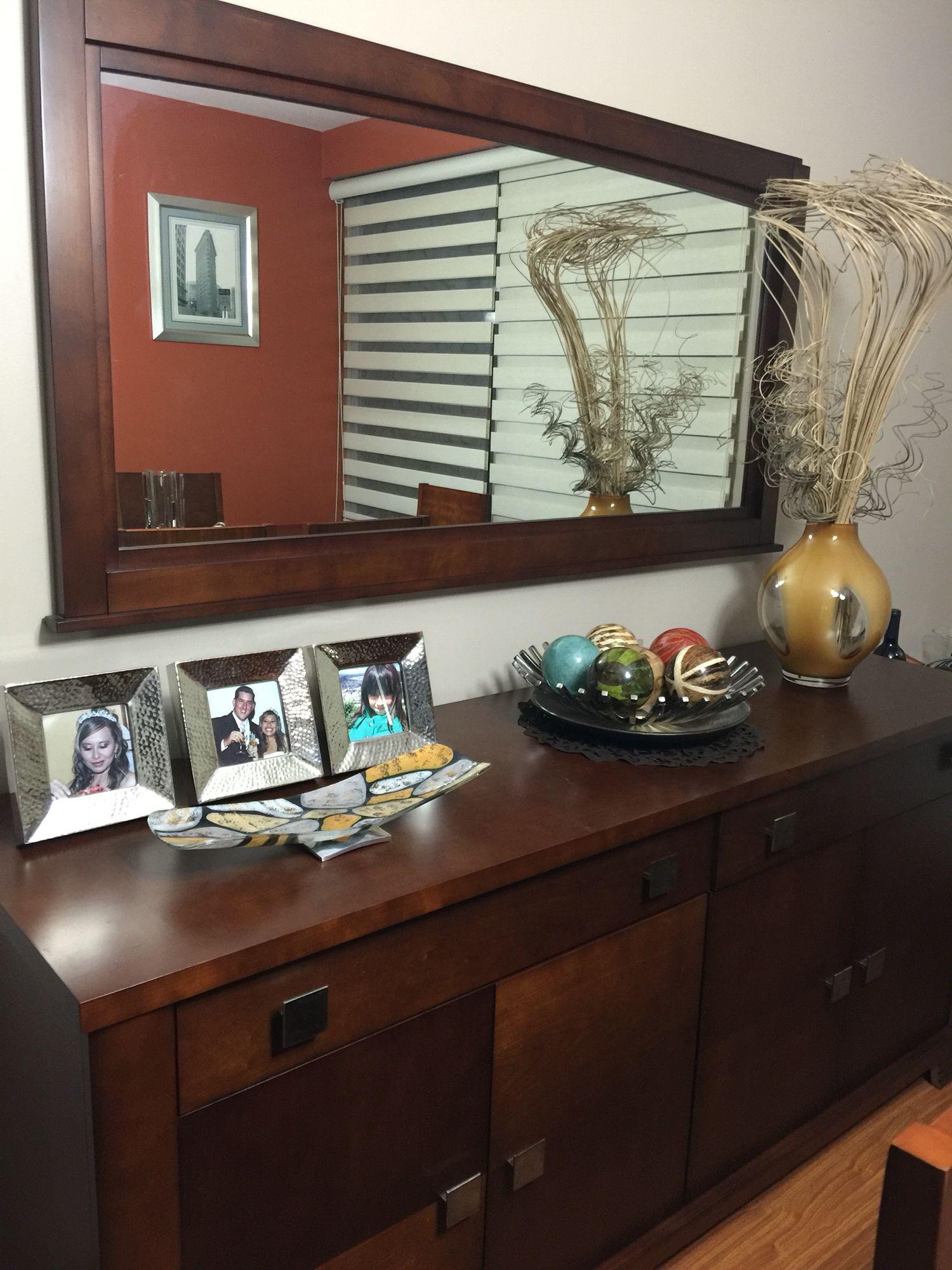 Decoracion bufetero decor en 2019 espejos comedor for Aparadores para comedor