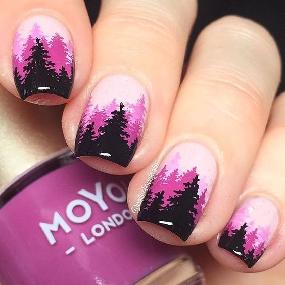 30 Most Eye Catching Nail Art Designs To Inspire You 30th And Makeup