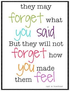 Caregiver Quotes and Tips – How You Make Them Feel   by Linda Brendle
