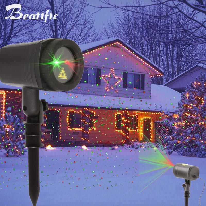 Christmas Lights Outdoor Laser Projector For Home Decorations New Year Holiday Lawn Lighting With Rf Remote Outdoor Christmas Lights Laser Christmas Lights Outdoor Christmas Lights
