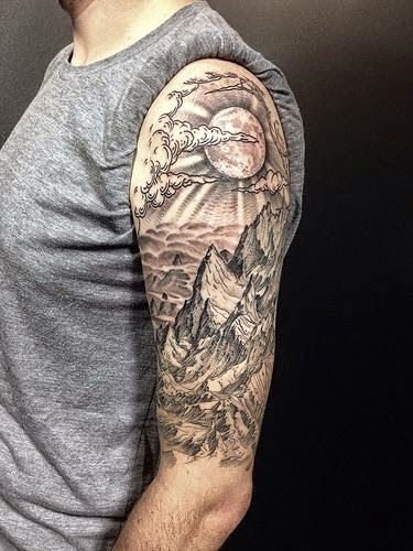phoenix with clouds japanese sleeve tattoo - Google Search