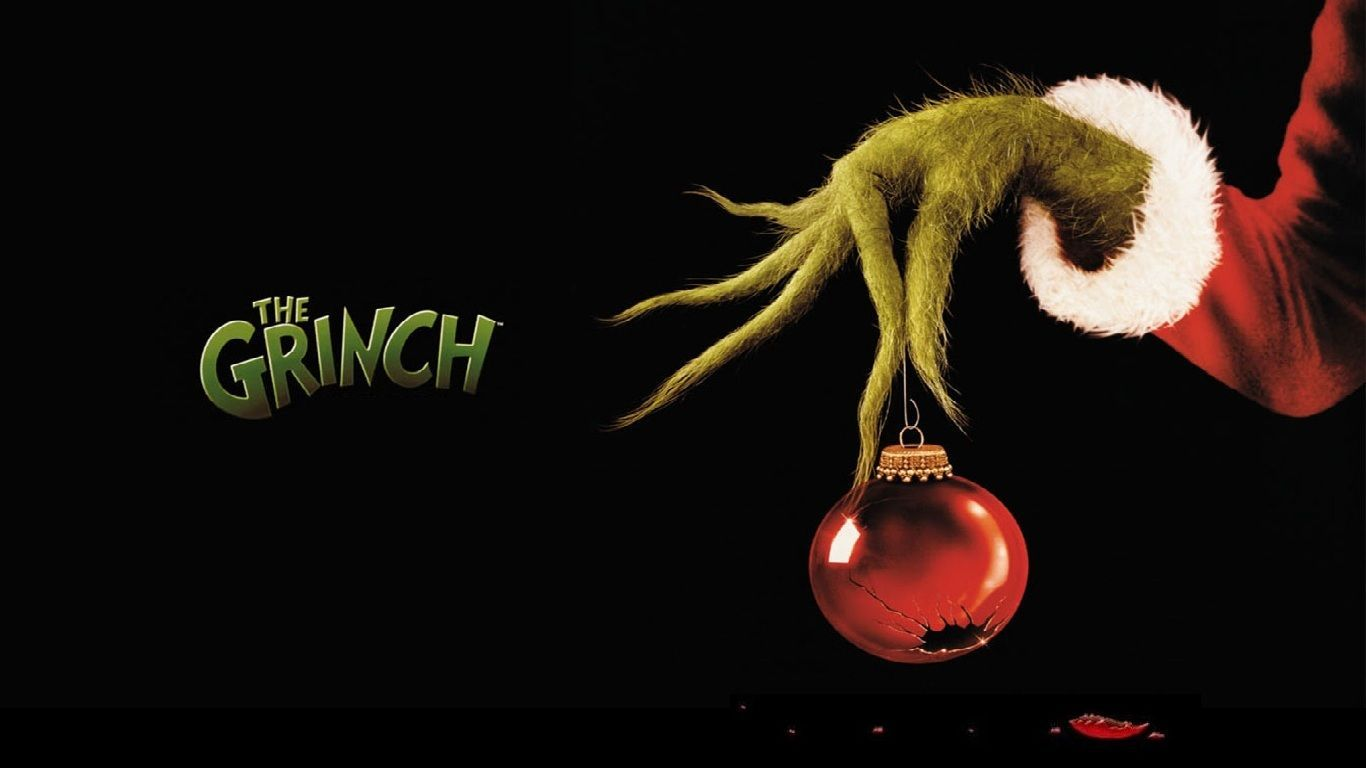 The Grinch Wallpapers Wallpaper Роспись по ткани