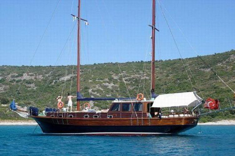 caique de 17m d 39 occasion vendre go lettes prestige boat yachting pinterest go lette. Black Bedroom Furniture Sets. Home Design Ideas