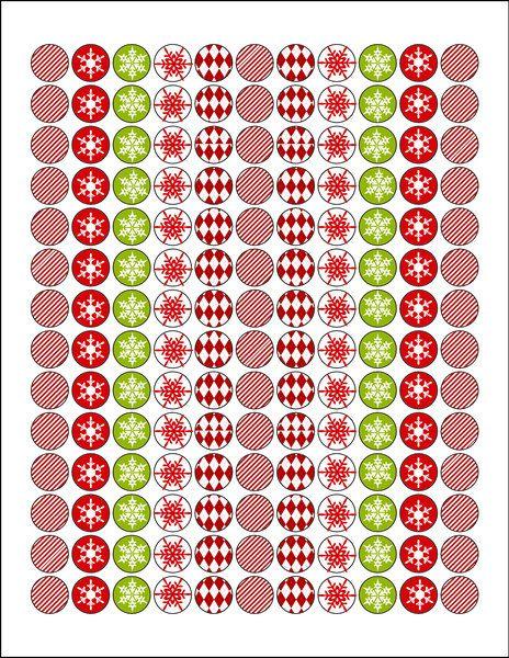 Hershey Kisses Christmas Labels Christmas Printable