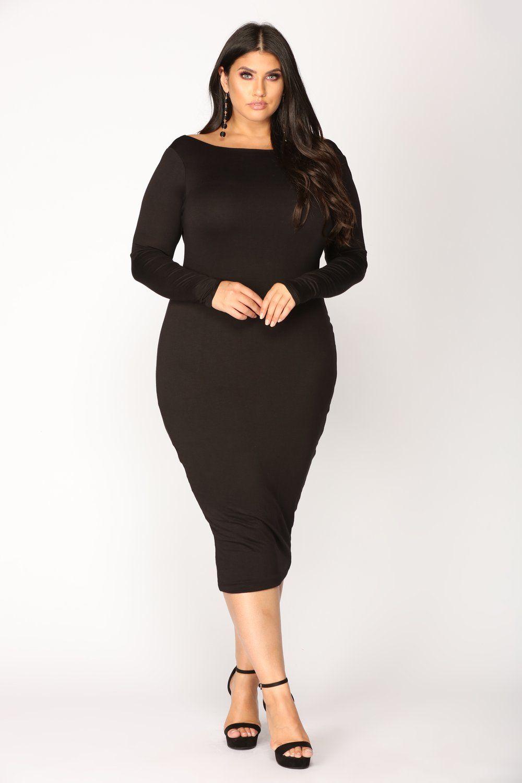 00c41a5000a Carin Dress - Black