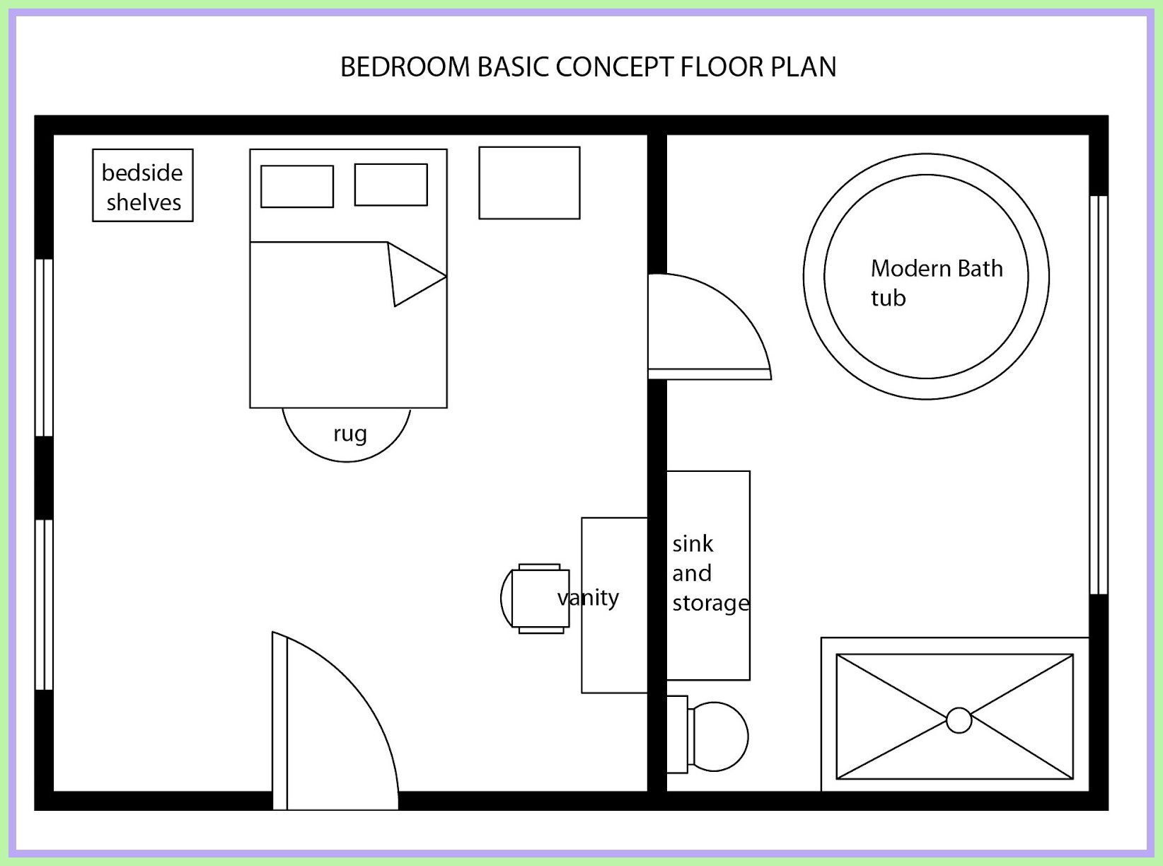 58 Reference Of Simple Master Bedroom Floor Plan Bedroom Floor Plans Master Bedroom Layout Floor Plan Design