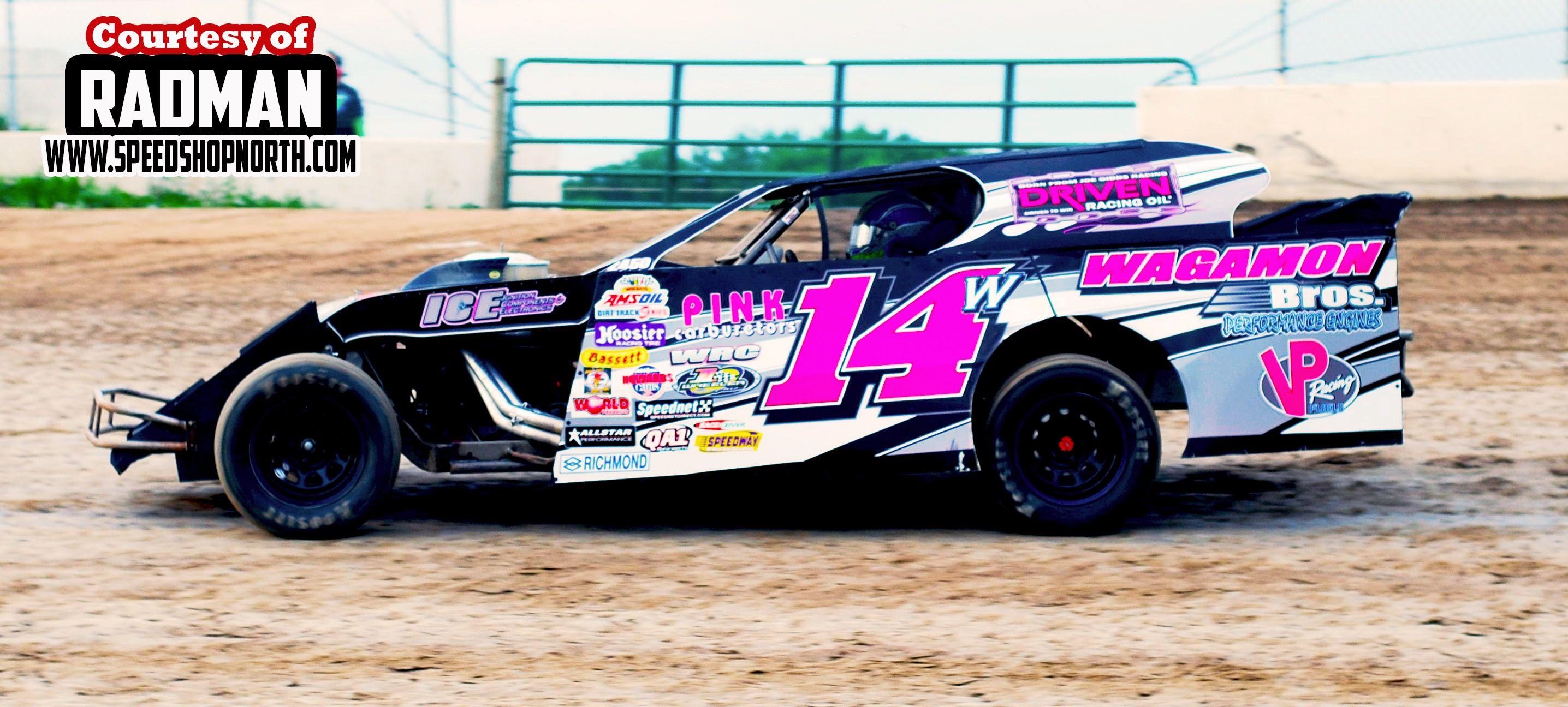 Clayton Wagamon Wissota Modified Dirt Track Race Car Dirt Track Cars Dirt Track Racing Dirt Track