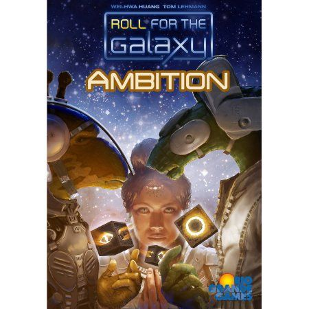 Rio Grande Games Roll for the Galaxy: Ambition Board Game Expansion, Multicolor
