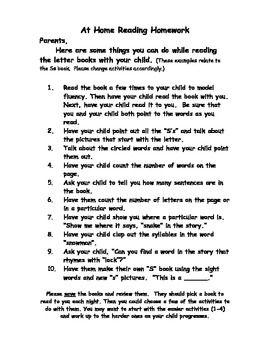 Parent letter explaining homework essay on the history of art