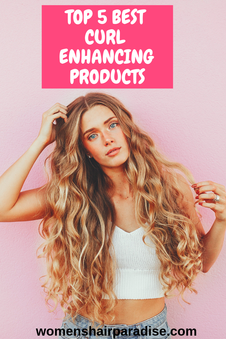 Top 5 Best Curl Enhancing Products Curly hair styles