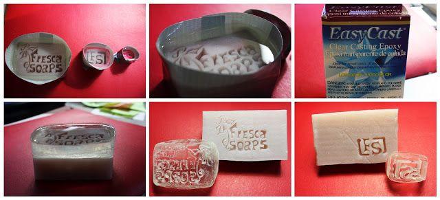 como hacer nuestro propio sello para jabones