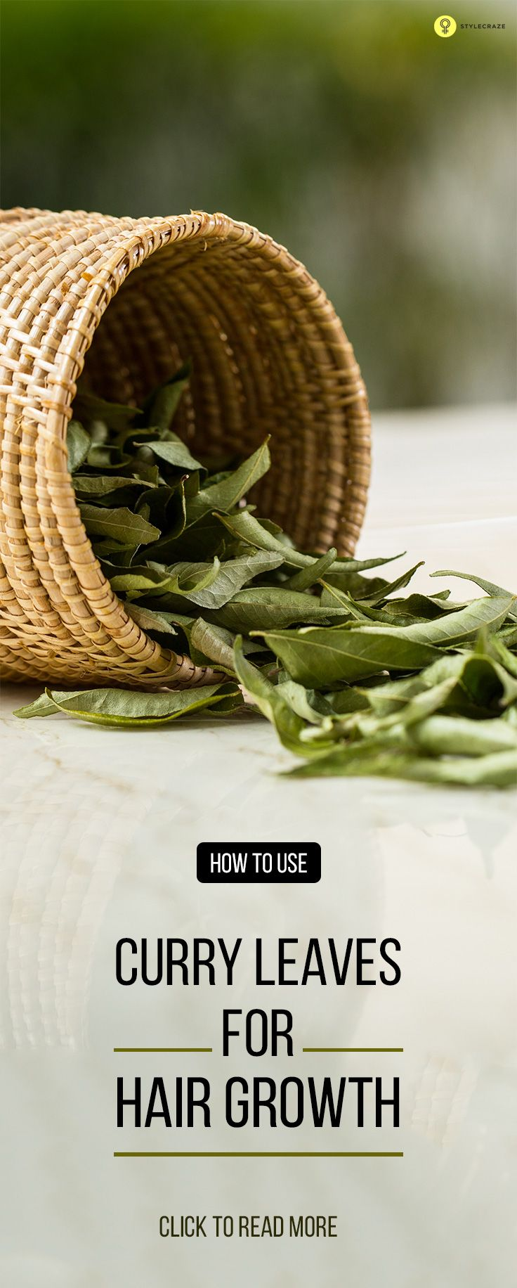 curry leaves hair
