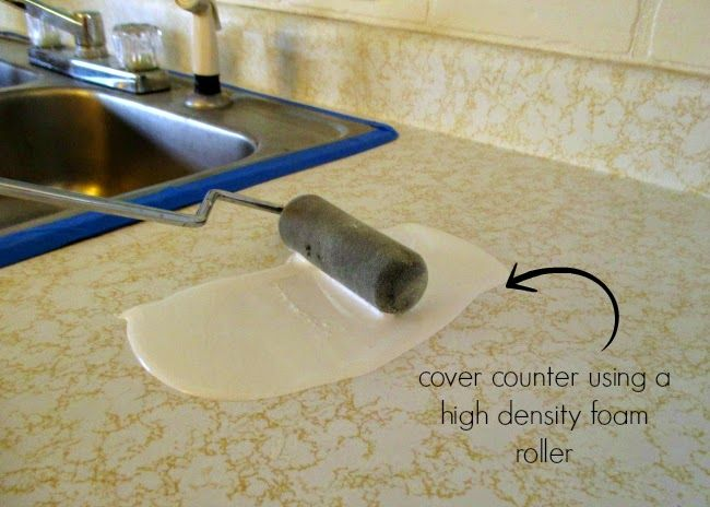 Diy Counters Laminate To Marble For Only 25 Paint